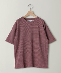 BY 細橫條紋 寬版T恤