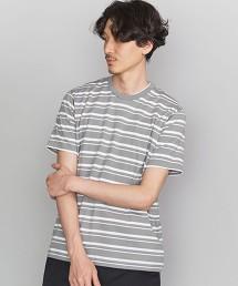 BY 細針腳 相間直條紋 T恤