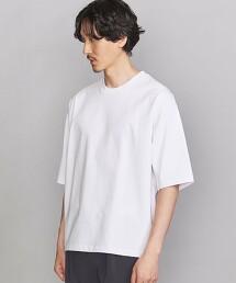 BY 緊密紡紗 寬版錐形 T恤
