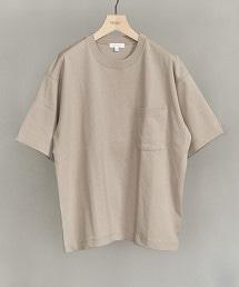 BY CRISP COTTON 方型剪裁 T恤