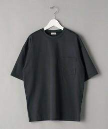 BY SALUJA 寬版 1口袋 T恤