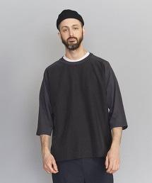 BY 混紡織物 寬版 6SL T恤