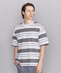BY 橫條紋 寬衣身 T恤 -MADE IN JAPAN-