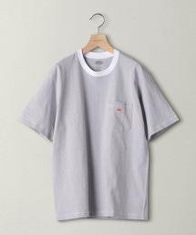 <DANTON> BORDER LOGO TEE/T恤