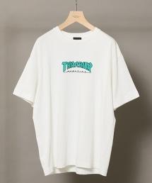 【特別訂製】 <THRASHER> LOGO TEE/T恤