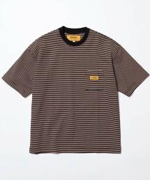 【特別訂製】 <UNIVERSAL OVERALL> 1POC BORDER TEE/T恤