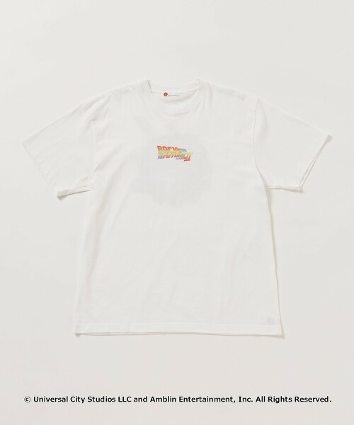 【WEB限定】 <info. BEAUTY&YOUTH> Back To The Future TEE/回到未來T恤