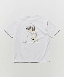 <江口寿史>×<BEAUTY & YOUTH> KANOJO TEE/聯名T恤