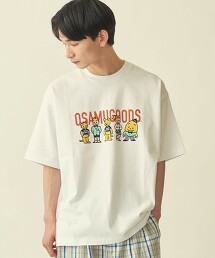 【WEB限定】 <OSAMU GOODS(R)>×<info. BEAUTY&YOUTH> PRINT TEE/聯名T恤