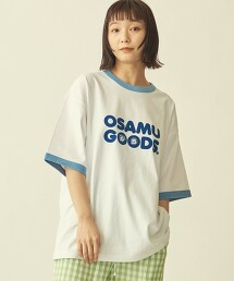 【WEB限定】 <OSAMU GOODS(R)>×<info. BEAUTY&YOUTH> RINGER TEE/T恤