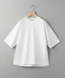 【接觸冷感】BY 圓領 寬版 T恤