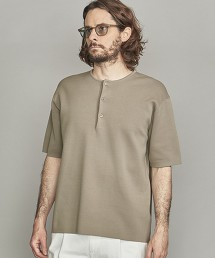 BY 米蘭羅紋亨利領針織衫