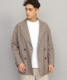 BY 格紋寬版 4B 西裝外套