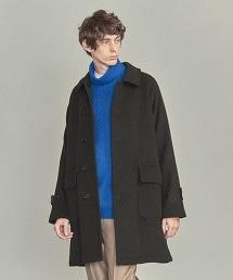 BY 厚呢 巴爾瑪肯領大衣