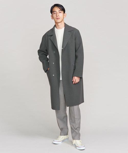 BY 素色巴爾瑪肯大衣