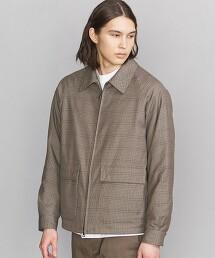BY 細格紋 化纖填充物 夾克