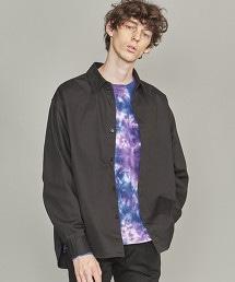 BY Broken Twill Shirring Oversize Shirt