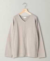 BY 米蘭羅紋 拉鍊對襟外套