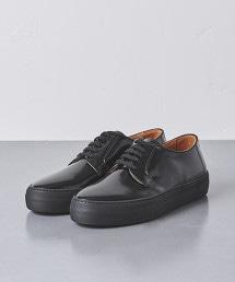 <UNITED ARROWS> 漆皮 德比鞋 休閒皮鞋 義大利製†