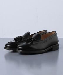 <UNITED ARROWS> 皮革 流蘇 樂福鞋 西班牙製