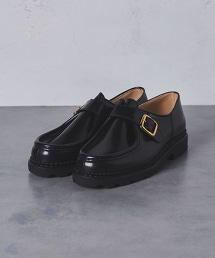 【特別訂製】<Paraboot> UA MICHAEL SHINY/B† 漆皮孟克鞋