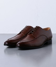 <UNITED ARROWS> 牛皮 棕色 U型鞋楦 皮鞋  日本製