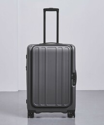 <UNITED ARROWS> 鐵灰色 行李箱 66L†