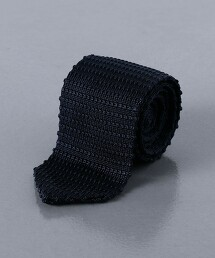 <Nicky> 橫條紋針織領帶 義大利製