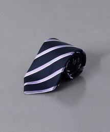<ERRICO FORMICOLA> 色丁布 直條紋 領帶