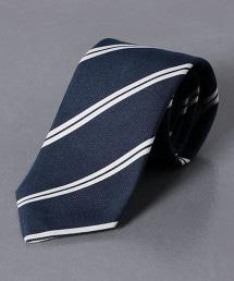 <ERRICO FORMICOLA>斜紋織 直條紋 領帶2