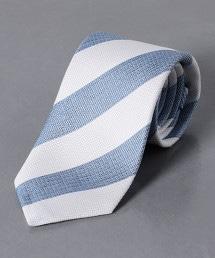 <ERRICO FORMICOLA> 緹花織 直條紋 領帶