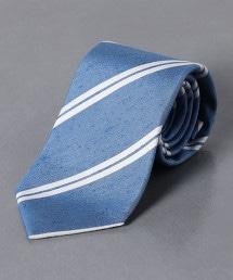 <ERRICO FORMICOLA> 粗紡直條紋 領帶