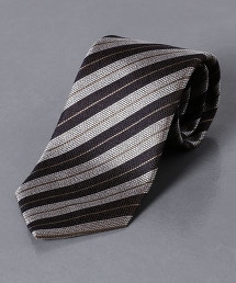 <ERRICO FORMICOLA> 緹花織 複合條紋 領帶