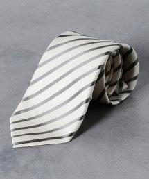 <Nicky> 正式 色丁布 緹花織 英式條紋 領帶