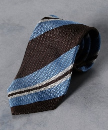 <Nicky> 緹花織 英式條紋 領帶
