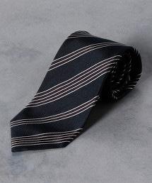 <Nicky>斜紋織 相間直條紋 領帶2
