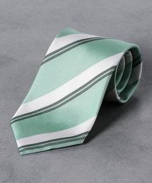 <Nicky>斜紋織 複合條紋 領帶