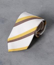 <Nicky> 斜紋織 人字呢 斜條紋領帶