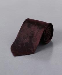 <FIORIO>緹花圓點領帶