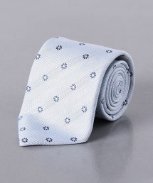 <ERRICO FORMICOLA> 麻混蠶絲 小紋 領帶