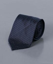<FIORIO> 緹花 人字呢 領帶