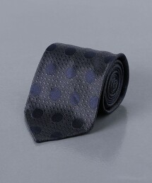 <FIORIO> 緹花 圓點領帶