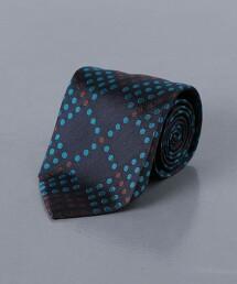 <FIORIO> 緞面 圓點領帶