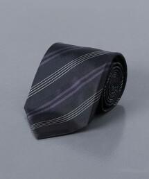 <FIORIO> 斜紋織 相間直條紋領帶 義大利製
