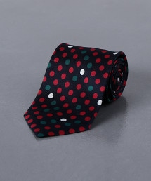 <FIORIO> 圓點印花領帶