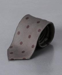 <FIORIO> 緹花圓點領帶