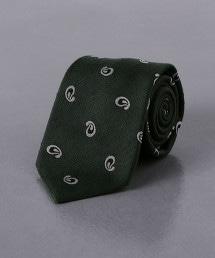 <FIORIO> 棉節佩斯利領帶