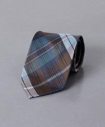 <FIORIO> 馬德拉斯格紋 領帶