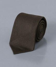 <UNITED ARROWS> 棉紗 素色領帶
