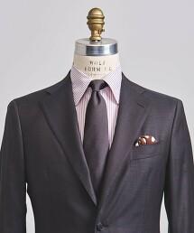 <UNITED ARROWS>蠶絲 素色 領帶